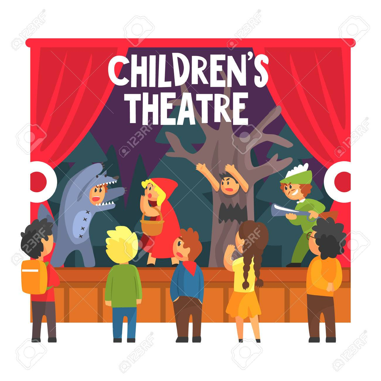 theatre play in the classroom